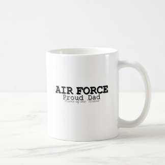 Air Force Dad Home of Brave Coffee Mugs