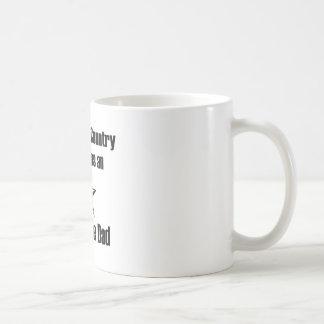 Air Force Dad Serve Coffee Mug