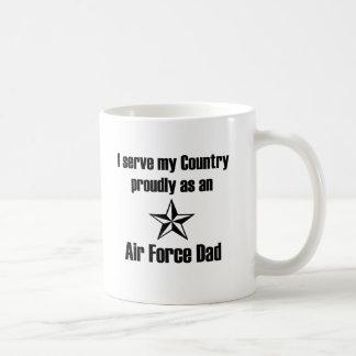 Air Force Dad Serve Coffee Mugs