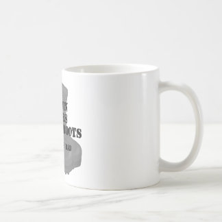 Air Force Dad Son CB Coffee Mug