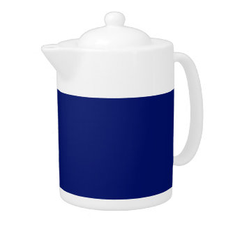 AIR FORCE DARK BLUE (solid color background) ~ Teapot