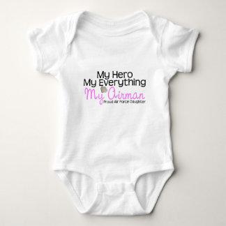 Air Force Daughter Baby Bodysuit