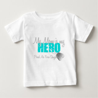 Air Force Daughter My Mom Hero Baby T-Shirt