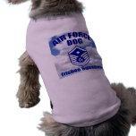 Air Force Dog Pet Tee Shirt