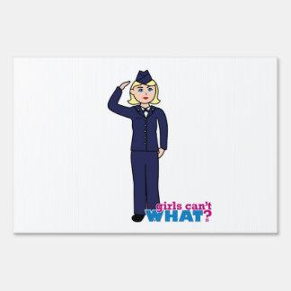 Air Force Dress Blues Light Sign