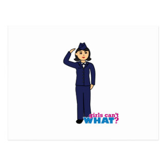 Air Force Dress Blues Medium Postcard