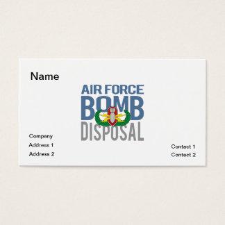 Air Force EOD Business Card