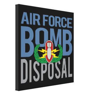 Air Force EOD Canvas Print