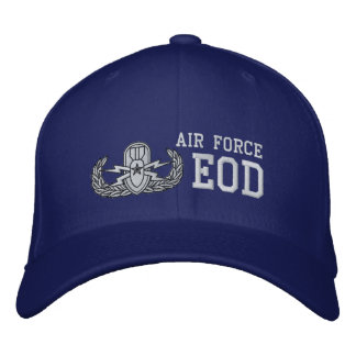 Air Force EOD Embroidered Baseball Cap