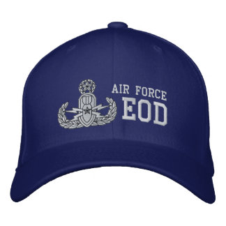 Air Force EOD Master Embroidered Baseball Cap