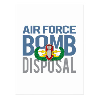 Air Force EOD Postcard