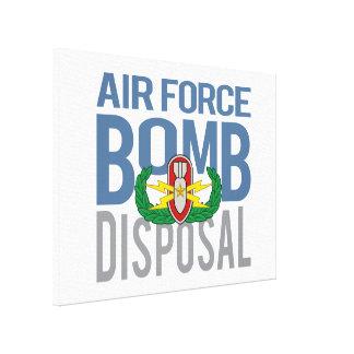 Air Force EOD Senior Canvas Print