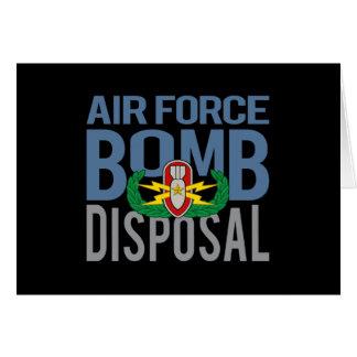 Air Force EOD Senior Card