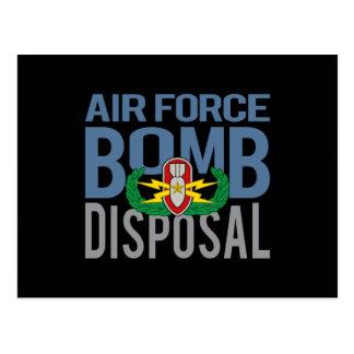 Air Force EOD Senior Postcard