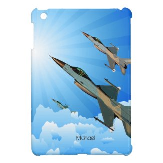 Air Force F16 Fighters In Action iPad Mini Case