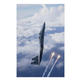 Air Force F-15 Eagle Poster