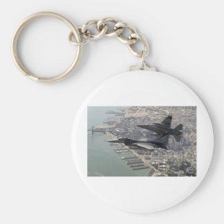 Air Force F-16 Eagle Keychain