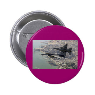 Air Force F-16 Eagle Pinback Button