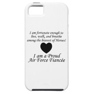 Air Force Fiancee Fortunate iPhone 5 Case