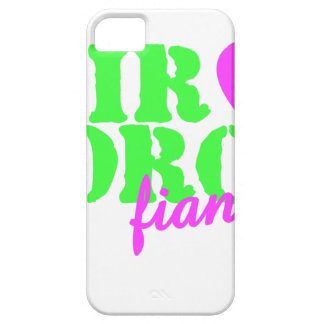 Air Force Fiancee Lime Green iPhone 5 Case