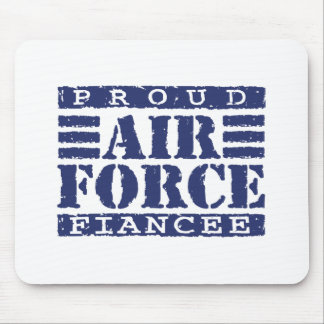 Air Force Fiancee Mouse Pad