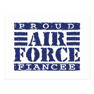Air Force Fiancee Postcard