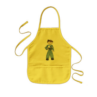 Air Force Girl Kids' Apron