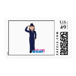 Air Force Girl Postage