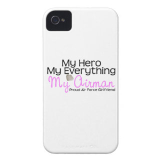 Air Force Girlfriend My Hero iPhone 4 Case