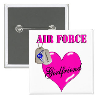 Air Force Girlfriend Pin