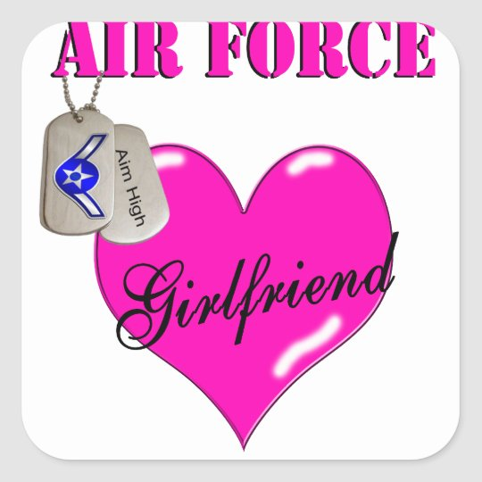 Air Force Girlfriend Stickers