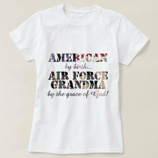 Air Force Grandma Grace of God Tshirt