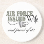 Air Force Issued Wife Drink Coaster