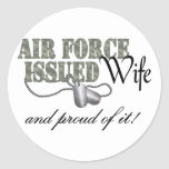 Air Force Issued Wife Sticker