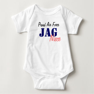 Air Force JAG Baby Bodysuit