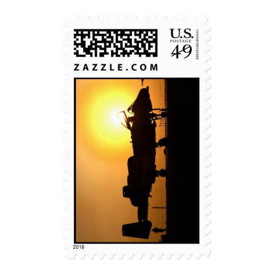 Air Force Jet Fighter Postage