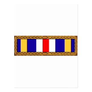 Air Force Joint Meritorious Unit Citation Award Postcard