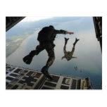 Air Force Jump Post Cards
