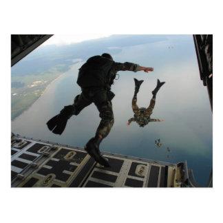 Air Force Jump Post Cards
