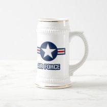 Air Force Logo Beer Stein
