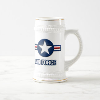 Air Force Logo Beer Stein