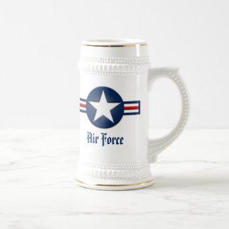 Air Force Logo Beer Stein 18 Oz Beer Stein