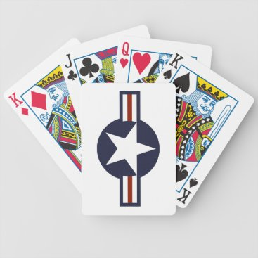 Air Force logo Bicycle Playing Cards