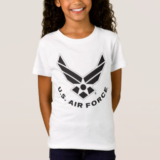 Air Force Logo - Black T-Shirt