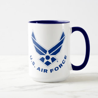 Air Force Logo - Blue Mug