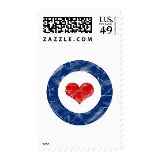 Air Force Love - Funny Humour Army Military Postage