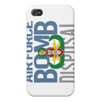 Air Force Master EOD iPhone 4/4S Cover