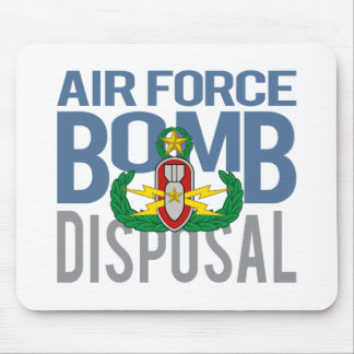 Air Force Master EOD Mouse Pad