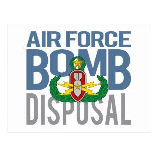 Air Force Master EOD Postcard