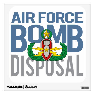 Air Force Master EOD Wall Decal